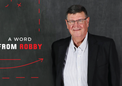 A Word From Robby: Measuring Success in Ministry
