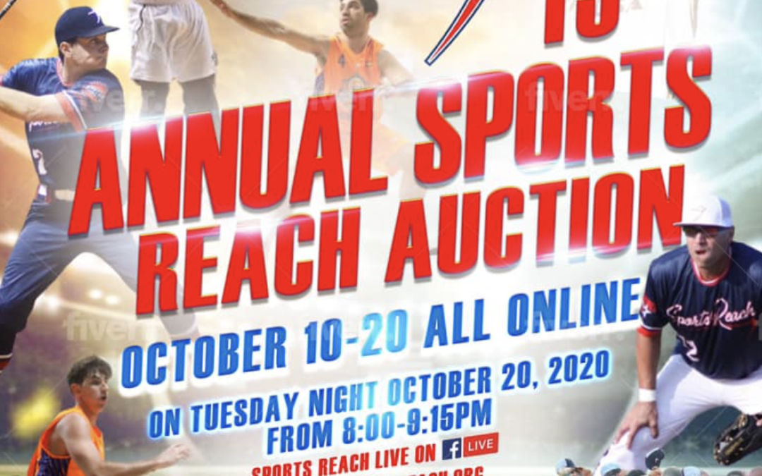 Sports Reach VIRTUAL Auction 2020